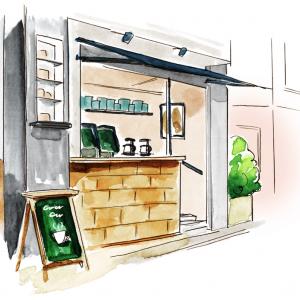 2章第1話:「行きつけのコーヒーショップ」/恋する3センチヒール